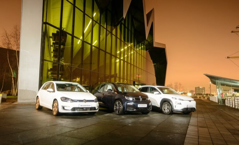 Our range of Electric Vehicle models